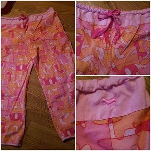 Victoria Secret Pink  sz M lounge pajama pants